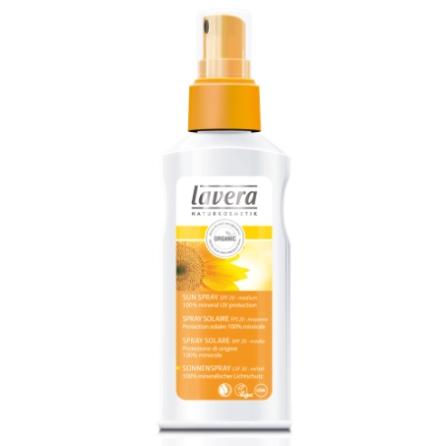 Solskydd spray SPF 20, ekologisk Lavera