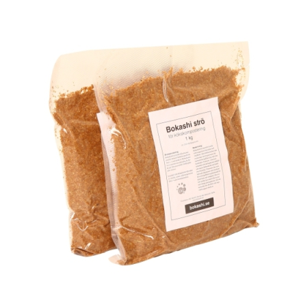 2 kg Bokashiströ, kompost
