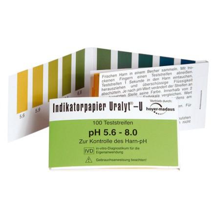 Ph-papper för mätning av Ph i saliv och urin, Holistic