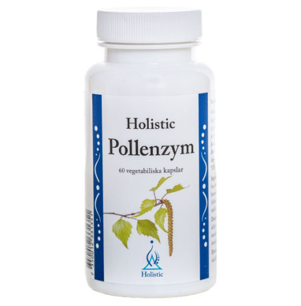 Pollenzym, 60 kapslar kosttillskott Holistic