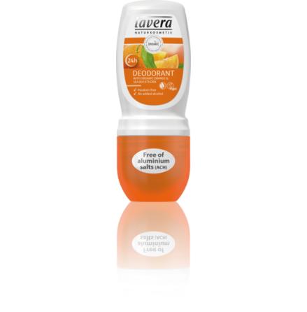 Ekologisk deo med apelsin och havtorn, Lavera