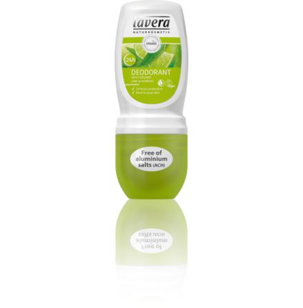 Deo roll-on Lime och Verbena,  ekologisk Lavera