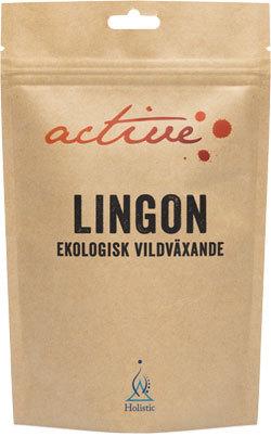 Lingonpulver ekologiskt 100 g, Active by Holistic