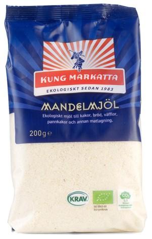 Mandelmjöl ekologiskt, 200 g Kung Markatta