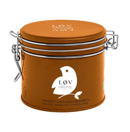 Rooibos apelsin och kanel, ekologiskt te Lov Organic