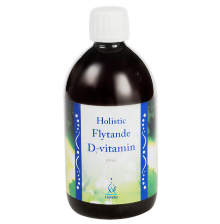 D3-vitamin flytande extra stark, Holistic
