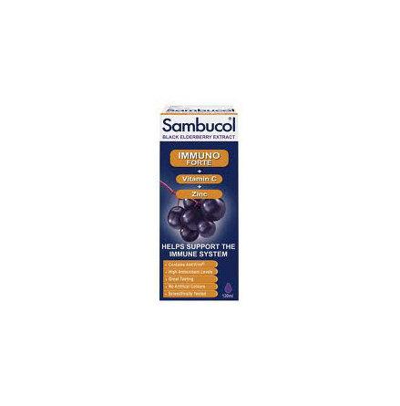 Sambucol immunoforte med vitamin C och zink